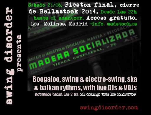 cartel madstock electro swing party
